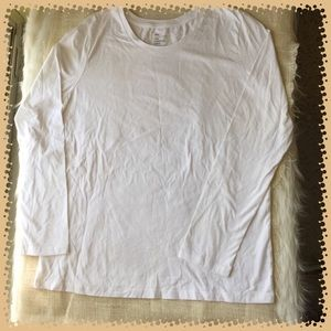 Gap Essential 100% Pima Cotton White Crew Tee